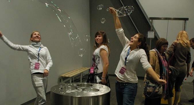 Copernicus Science Centre - Bubbles