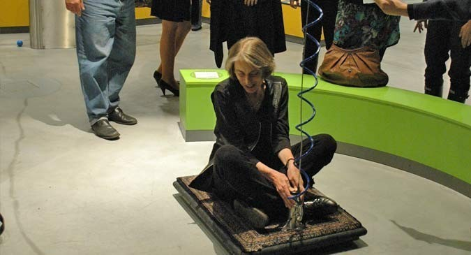 Copernicus Science Centre - Flying carpet