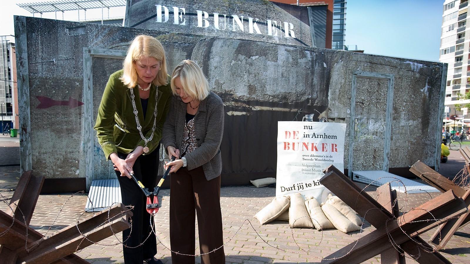 De Bunker exhibition