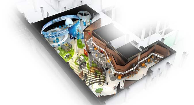 Liao Ning Science Center - Floorplan