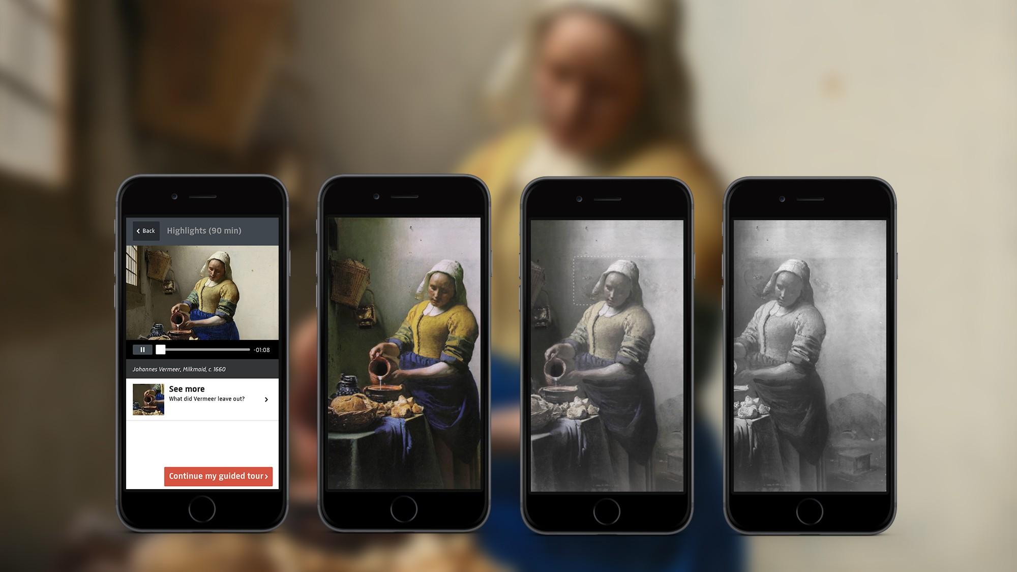 Rijksmuseum app - Milkmaid