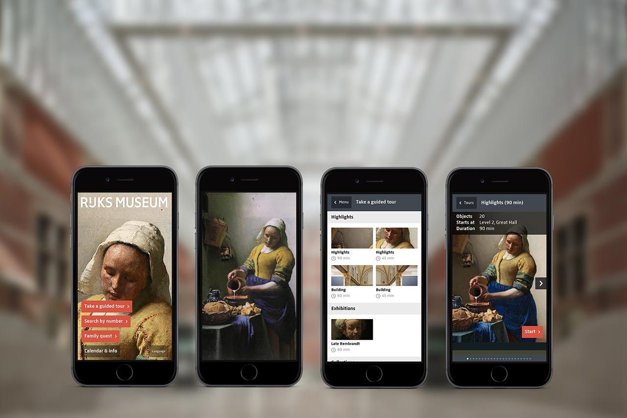 02 - Rijksmuseum app - home