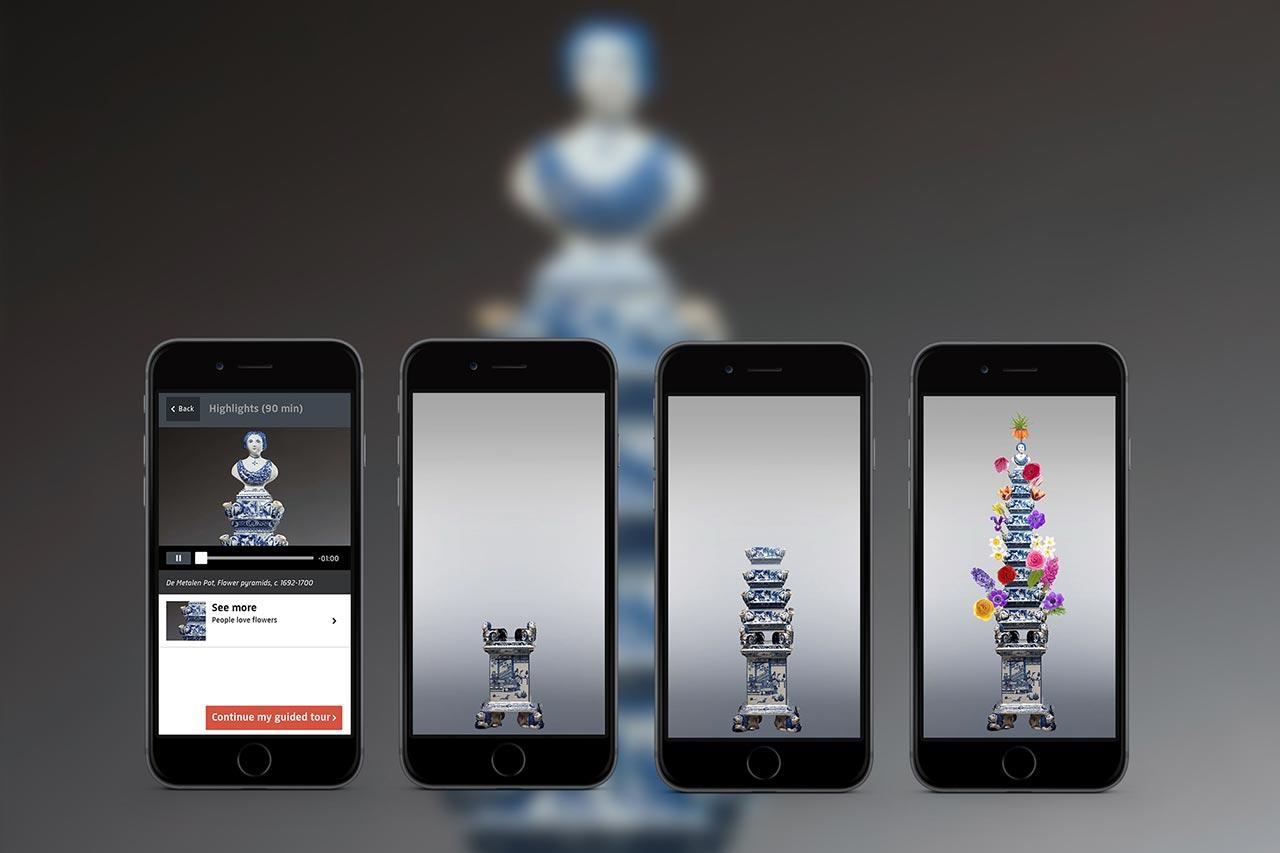 04 - Rijksmuseum app - Flower pyramids