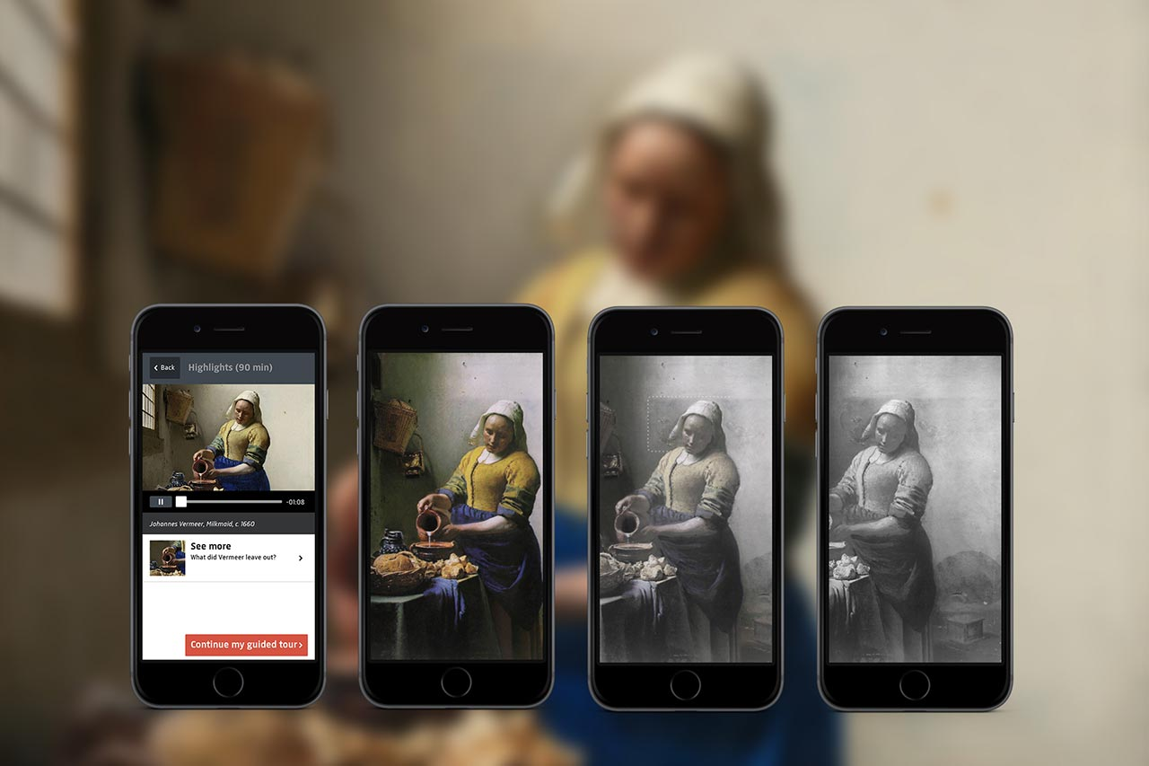 05 - Rijksmuseum app - Milkmaid