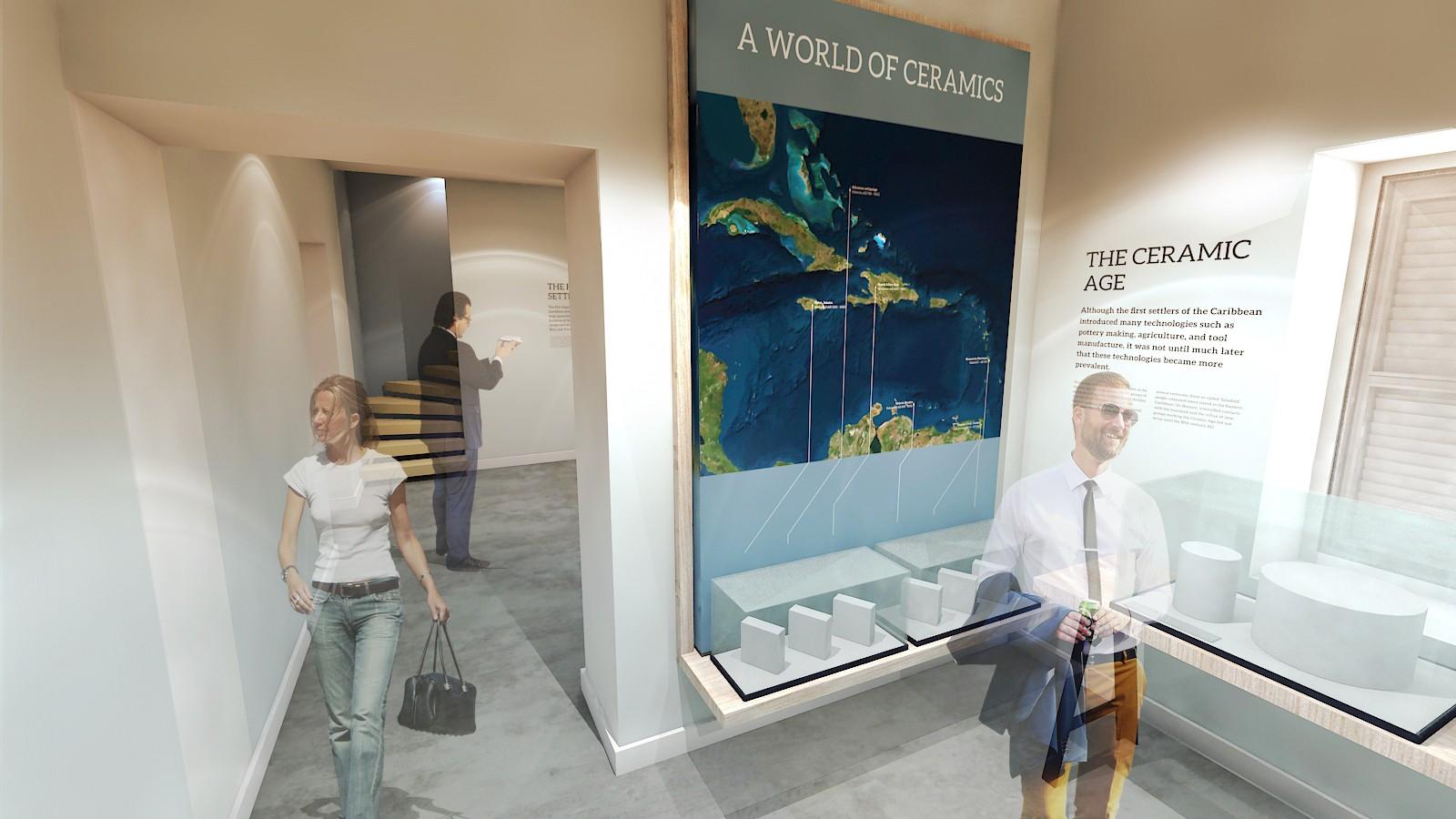 Bonaire's new Museum Square