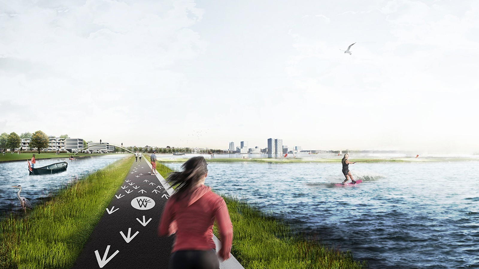 Weerwater: energizing the heart of a city