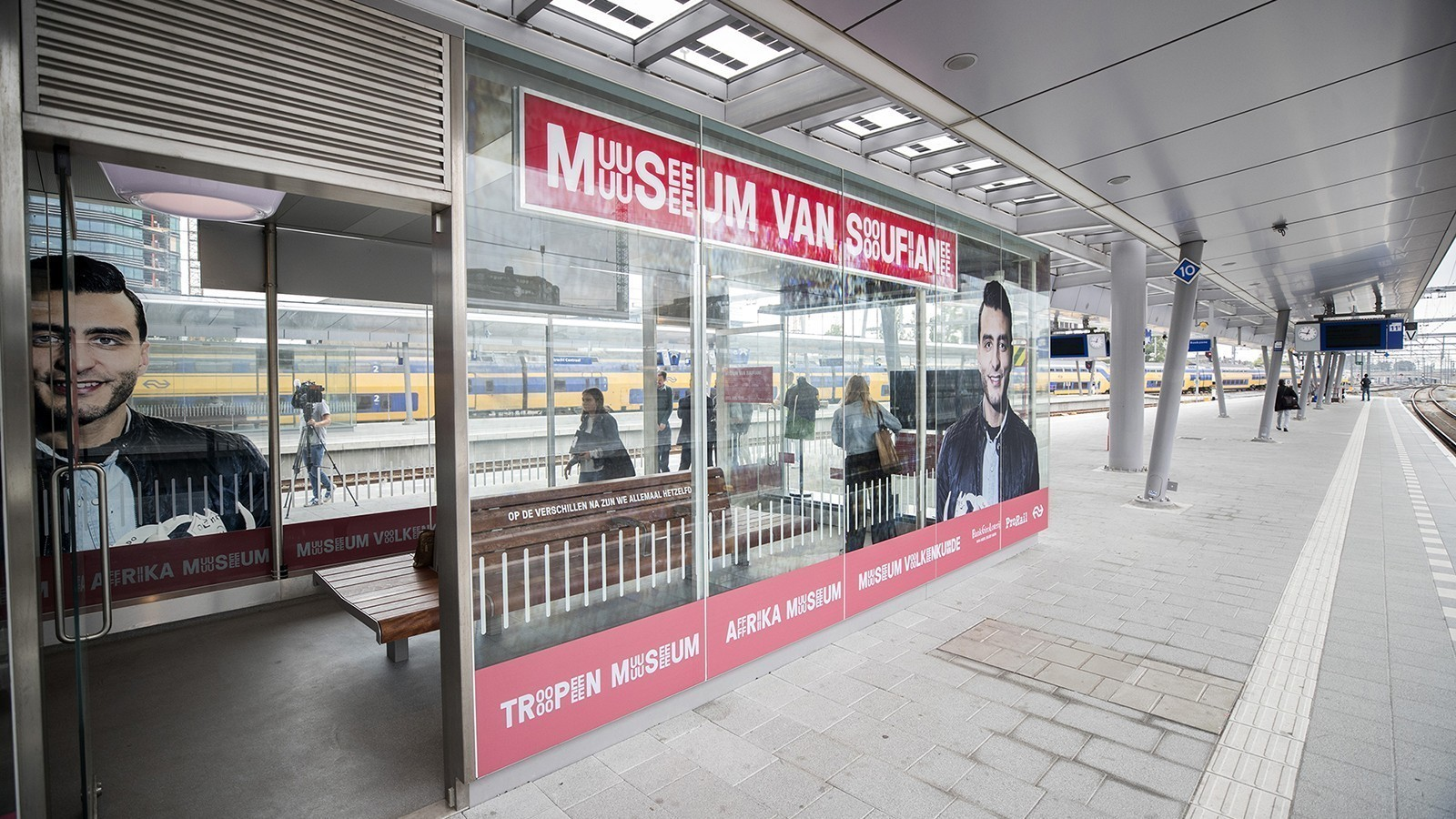 Mini museums at Dutch railway stations