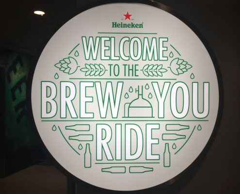 Heineken brew you ride